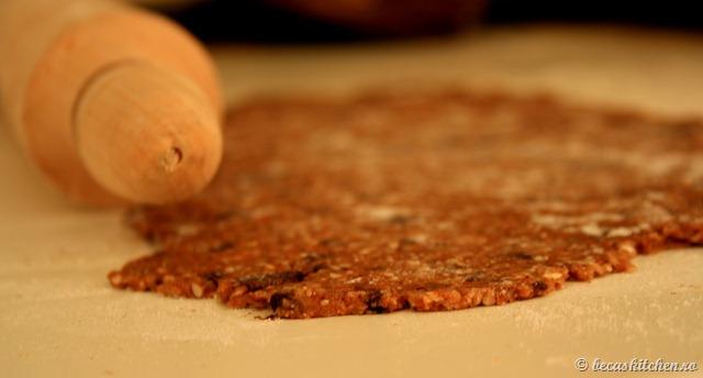 Biscuiti integrali de casa - mod de preparare 2