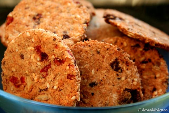 Biscuiti integrali de casa, o reteta de post