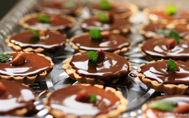 Tarte cu ciocolata
