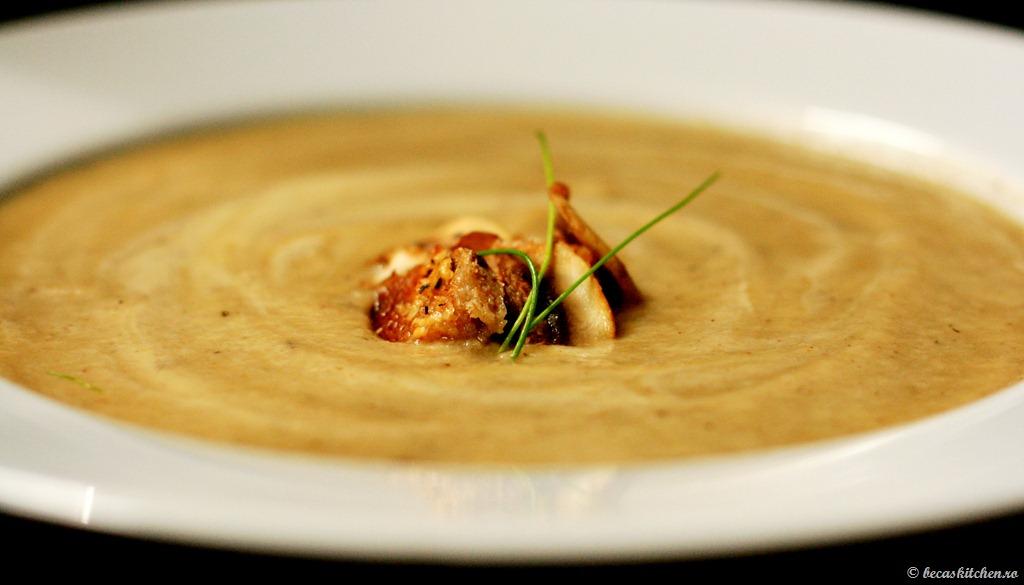 Supa crema de ciuperci (3)